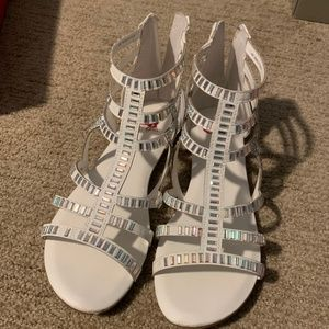 Other - Silver Metallic Girl's Sandals